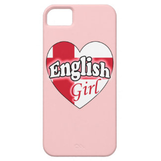 English Girl iPhone 5 Cover