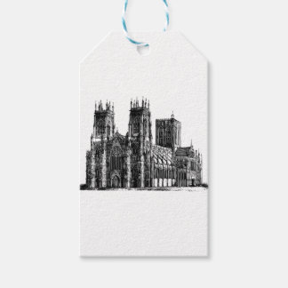 English Gothic church Gift Tags
