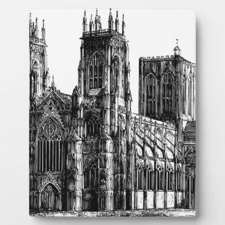English Gothic church Plaque