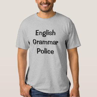 English Grammar Police Tshirt