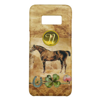 ENGLISH HORSE ,HORSESHOE AND SHAMROCK  MONOGRAM Case-Mate SAMSUNG GALAXY S8 CASE