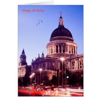 English image for Birthday greeting card