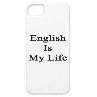 English Is My Life iPhone 5 Case