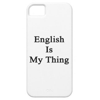 English Is My Thing iPhone 5 Cover