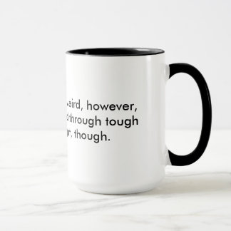 English is weird mug
