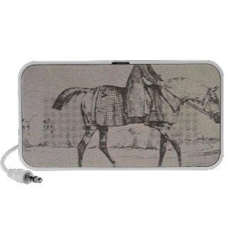 English Jockey by Theodore Gericault Notebook Speaker
