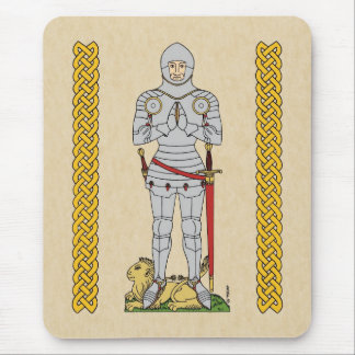 English Knight, Circa 1430 Mouse Pad