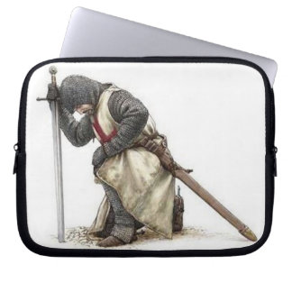 English Knight Neoprene Laptop Sleeve. Laptop Sleeve