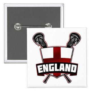 English Lacrosse Logo Badge