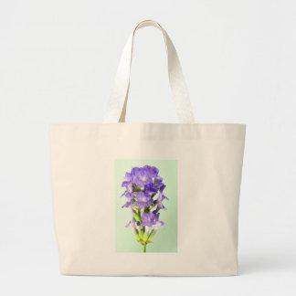 English Lavender Flower Photo Canvas Bag