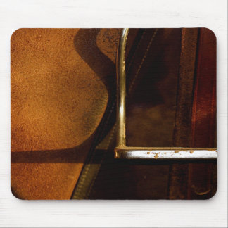 English Leather Saddle Stirrup Mouse Pad