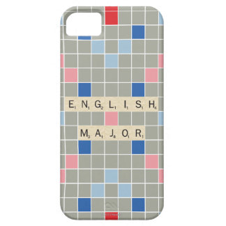 English Major Barely There iPhone 5 Case