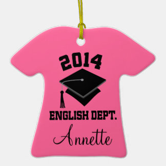 English Major Class of 2014 Graduate Ornament