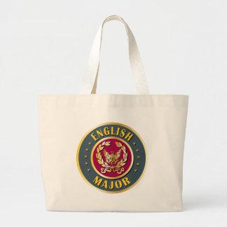 English Major Jumbo Tote Bag