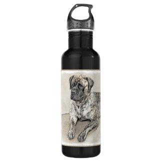 English Mastiff (Brindle) 710 Ml Water Bottle