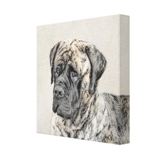 English Mastiff (Brindle) Canvas Print
