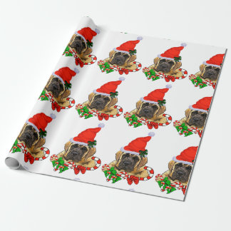 English Mastiff Christmas Wrapping Paper
