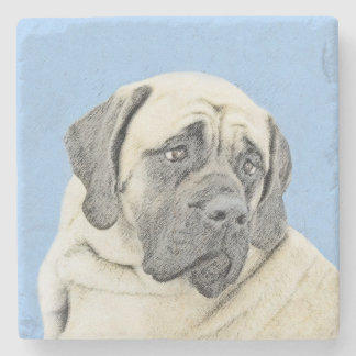 English Mastiff (Fawn) Stone Coaster