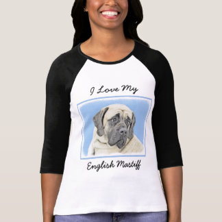 English Mastiff (Fawn) T-Shirt