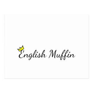 English Muffin Postcard