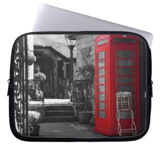 English Phone Booth Computer Sleeve