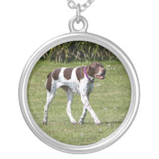 English Pointer dog necklace, gift idea