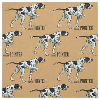 english pointer fabric