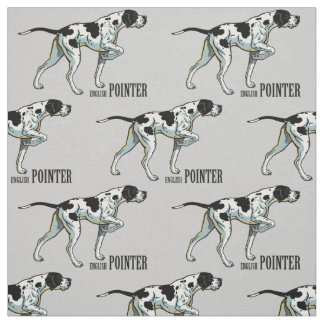 english pointer fabric
