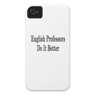 English Professors Do It Better iPhone 4 Covers