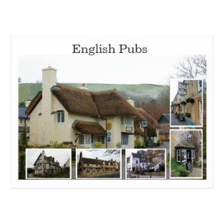 English Pub Scenes - Customized - Customized Postcard