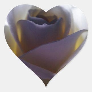 English Rose Heart Sticker