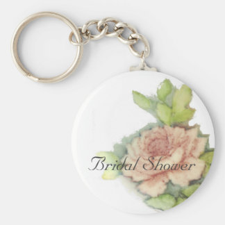 English Rose On A Key Chain-Customize Key Ring