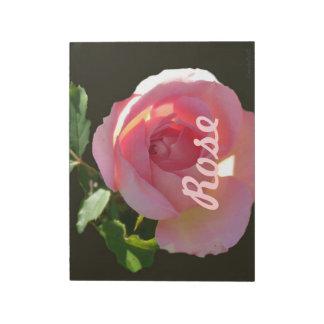 English Rose Pink Memo Note Pad