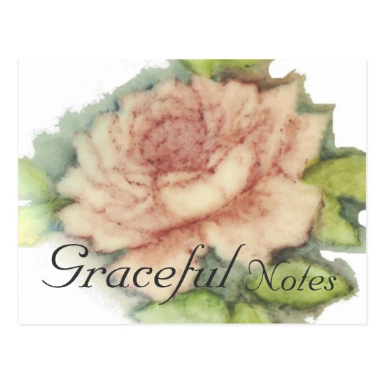 English Rose Post Card-Customise Postcard