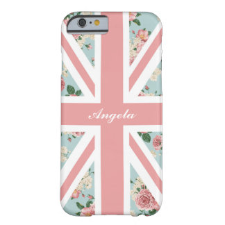 English Roses Union Jack Floral Pattern Barely There iPhone 6 Case