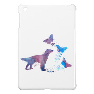 English Setter And Butterflies Case For The iPad Mini