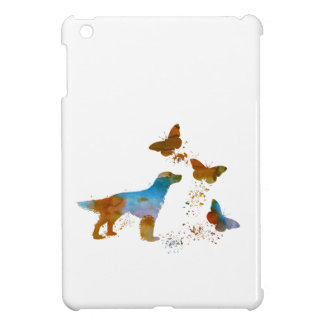 English Setter And Butterflies iPad Mini Case