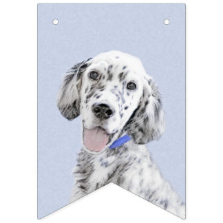 English Setter (Blue Belton) Bunting