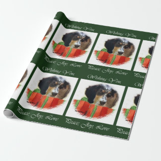 English Setter Christmas Wrapping Paper
