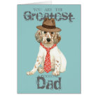 English Setter Dad Card