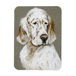 English Setter Dog Art Magnet