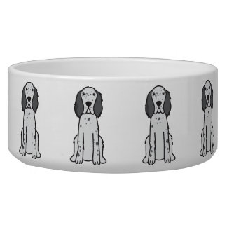 English Setter Dog Cartoon