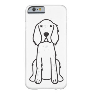 English Setter Dog Cartoon Barely There iPhone 6 Case