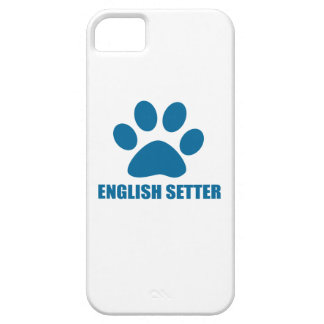 ENGLISH SETTER DOG DESIGNS CASE FOR THE iPhone 5