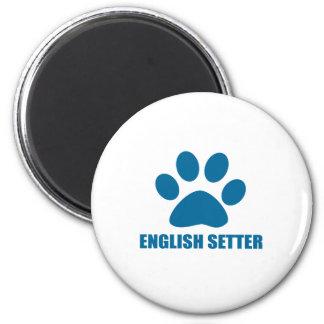 ENGLISH SETTER DOG DESIGNS MAGNET