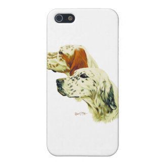 English Setter Cases For iPhone 5