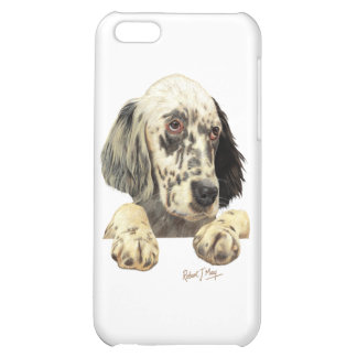 English Setter Cover For iPhone 5C