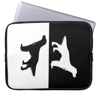 english setter laptop computer sleeves