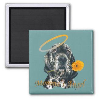 English Setter Momma's Angel magnet