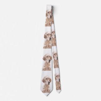 English Setter (Orange Belton) Tie